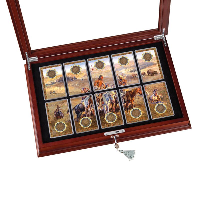 The Last 10 Years of Indian Head Pennies Collection 10404 0019 b displayopen
