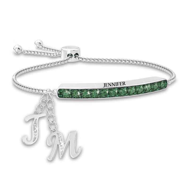 Personalized Birthstone Bolo Bracelet 1864 002 9 5