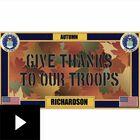 The Military Seasonal Welcome Mats, , video-thumb