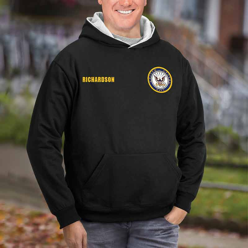 The Personalized Reversible US Navy Hoodie 2148 001 7 3