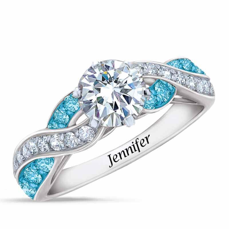 Birthstone Swirl Ring 6366 001 3 12