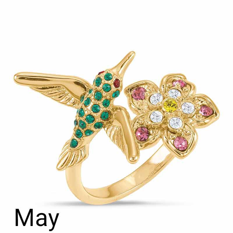 A Colorful Year Crystal Rings   Sizes 9 12 6115 004 1 4