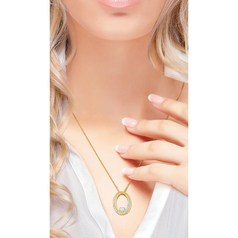 I Will Always Love You Daughter Diamond Pendant 10011 0014 m model