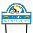 NFL Pride Personalized Address Plaques 5463 0405 a chargers