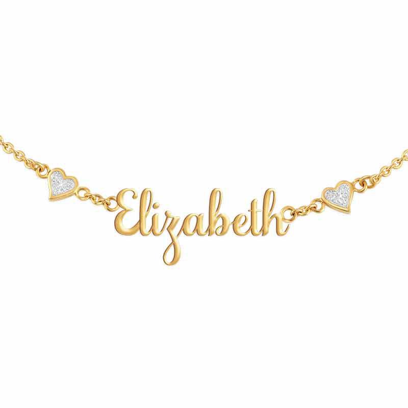 Granddaughter Signature Diamond Necklace 1874 001 9 4