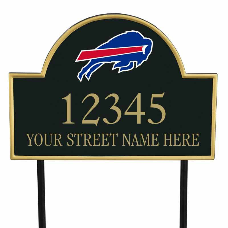 The NFL Personalized Address Plaque 5463 0355 d bills