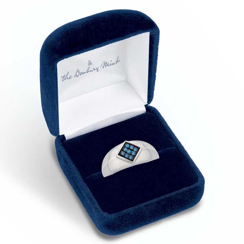 Midnight Blue Diamond Ring 9871 002 3 3