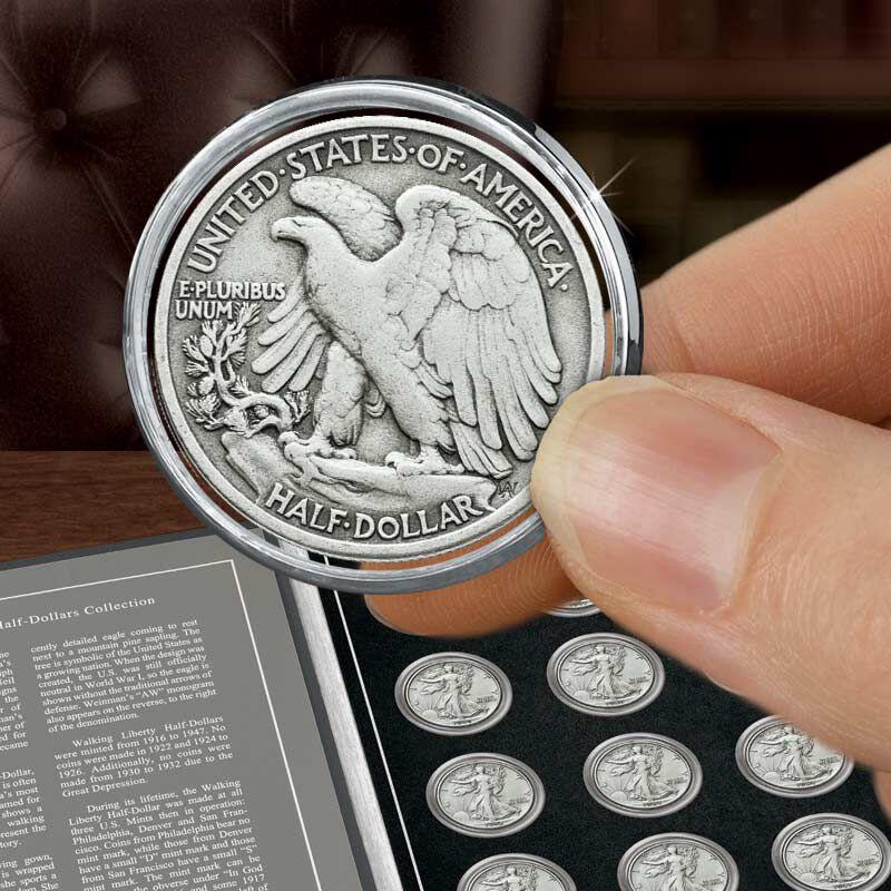 Walking Liberty Silver Half Dollars Collection 4541 002 4 2
