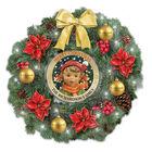 Hummel Lit Christmas Wreath 6946 0020 a main