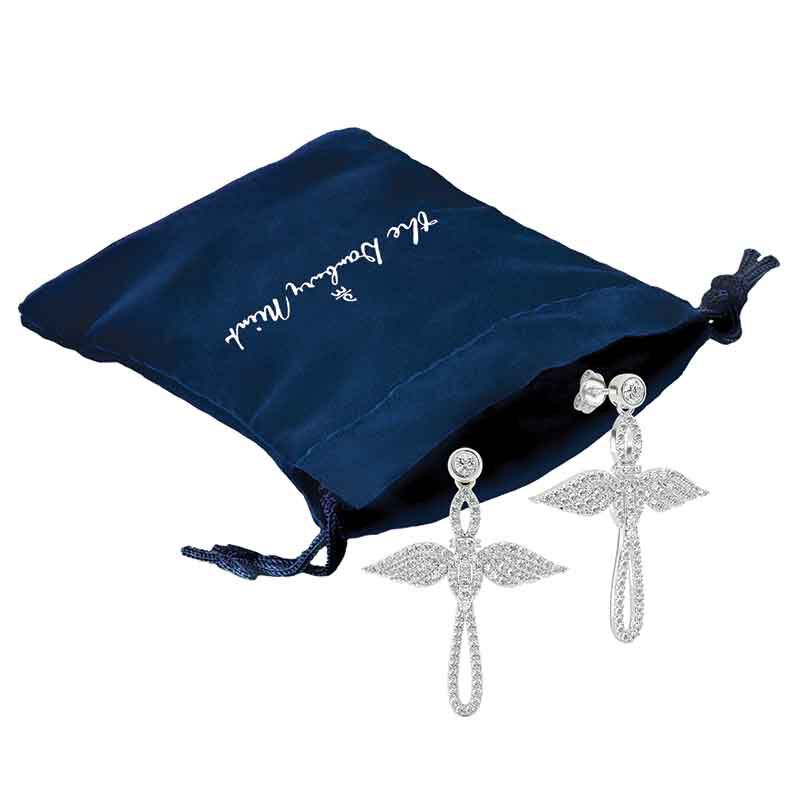 Touched by an Angel Cross Earrings 2673 005 1 2