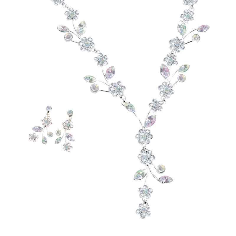 Birthstone Blooms Crystal Necklace 1398 001 6 4