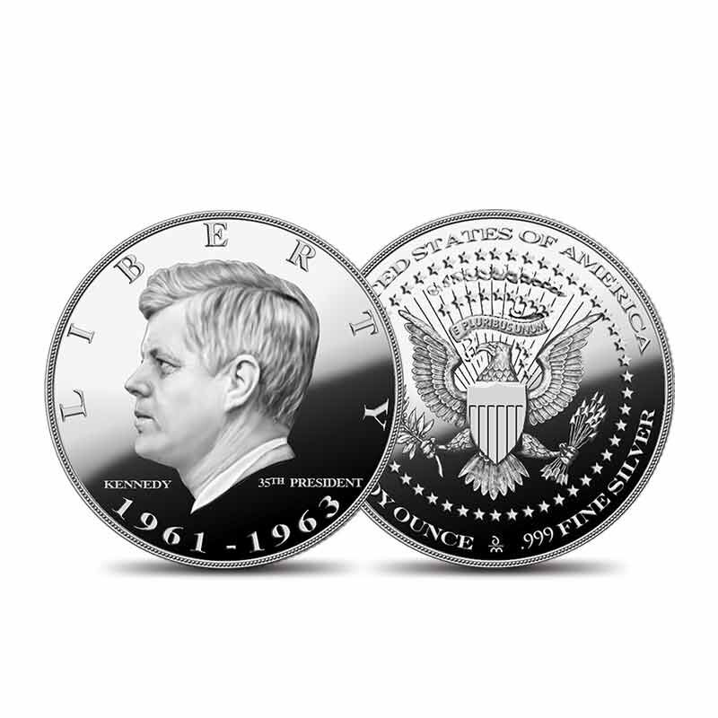 US Presidential Silver Commemoratives 9154 006 2 6
