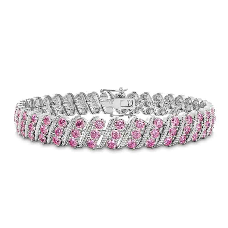 Bold  Brilliant Birthstone Bracelet 6003 001 2 10