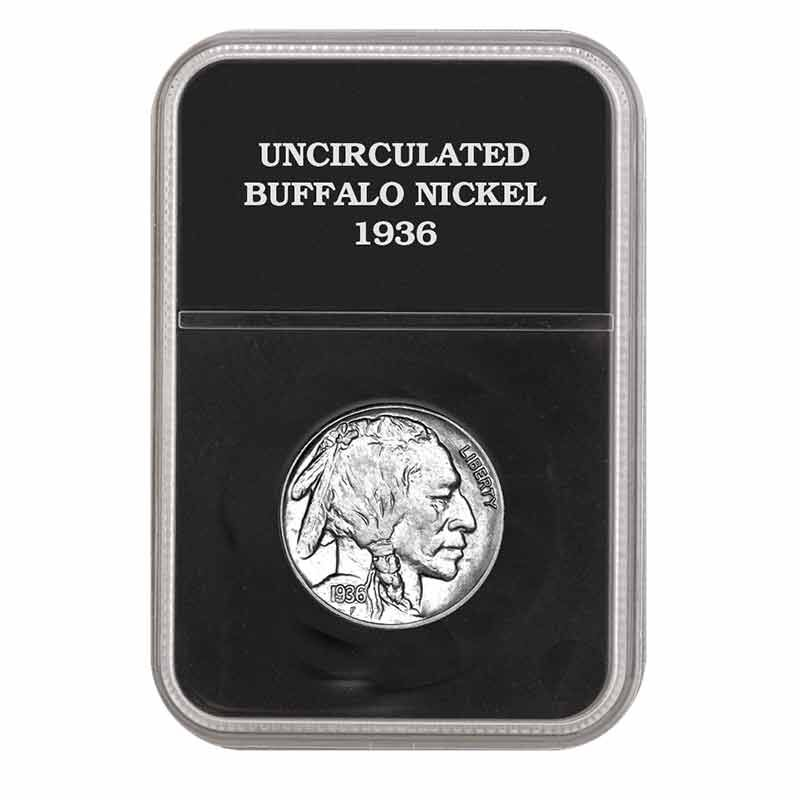 Uncirculated Buffalo Nickels 4348 001 1 4