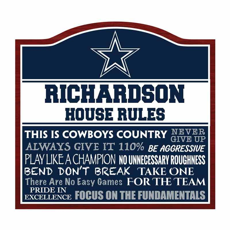 The NFL Personalized House Rules 6087 001 1 1