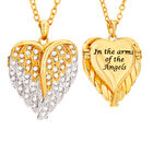 In the Arms of the Angels Personalized Locket 10010 0015 a main