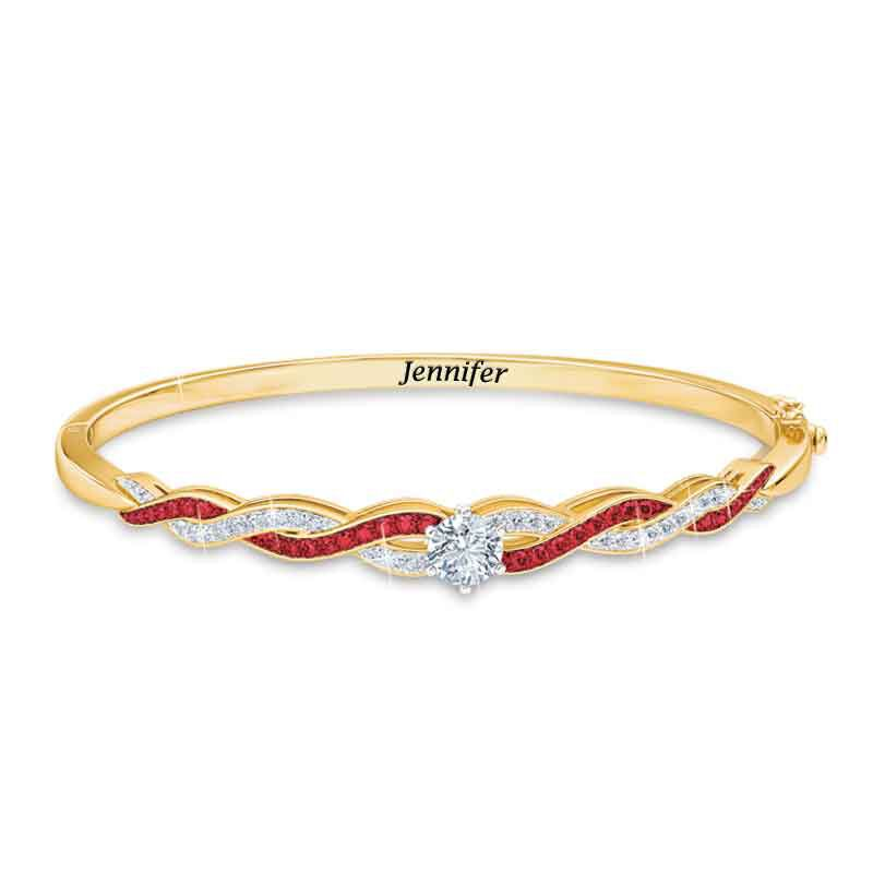Birthstone Swirl Bracelet 5821 001 4 7