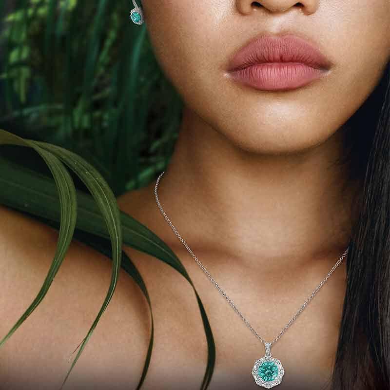 The Brazilian Beauty Necklace  Earring Set 6246 001 9 5