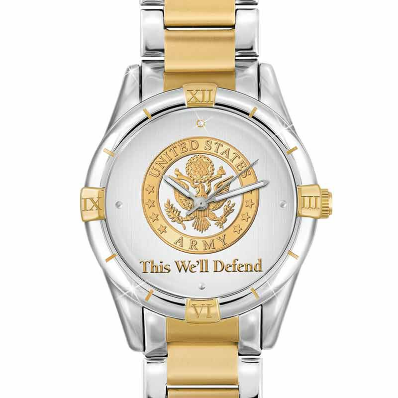 This Well Defend Diamond Watch 9657 003 1 1