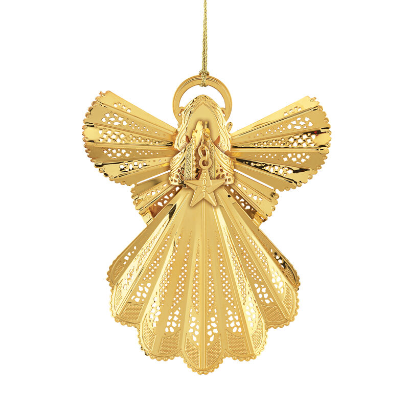 2021 Gold Christmas Ornament Collection 2798 0028 a main