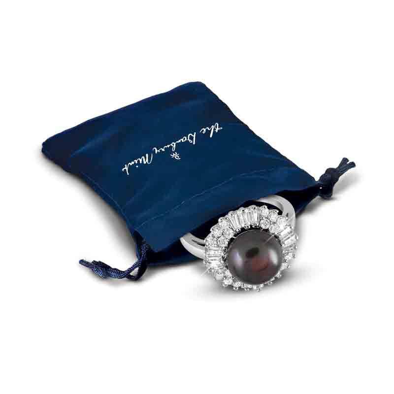 Tahitian Treat Black Pearl Ring 4946 001 7 3