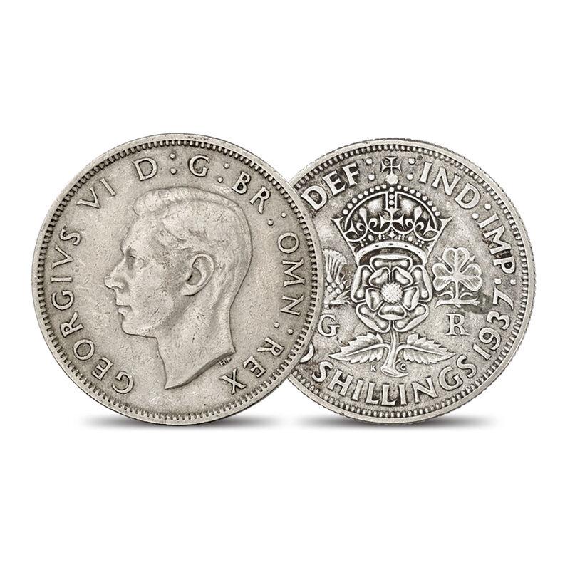 Last Four Decades of the Florin 10025 0018 b coin