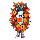 The Personalized Family Halloween Wreath 2379 0041 a main