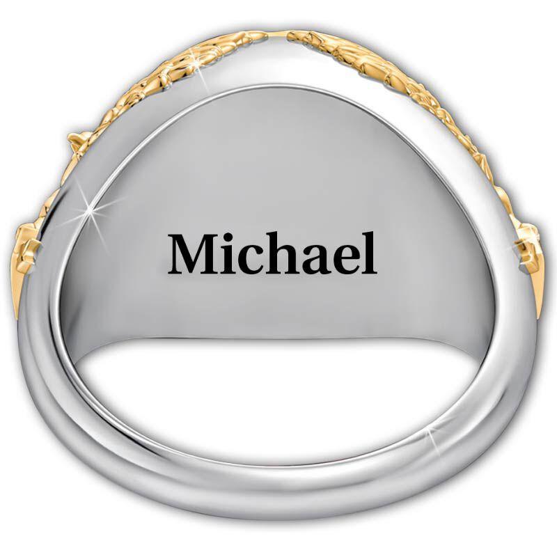Personalized USMC Eagle Ring 5323 008 2 2