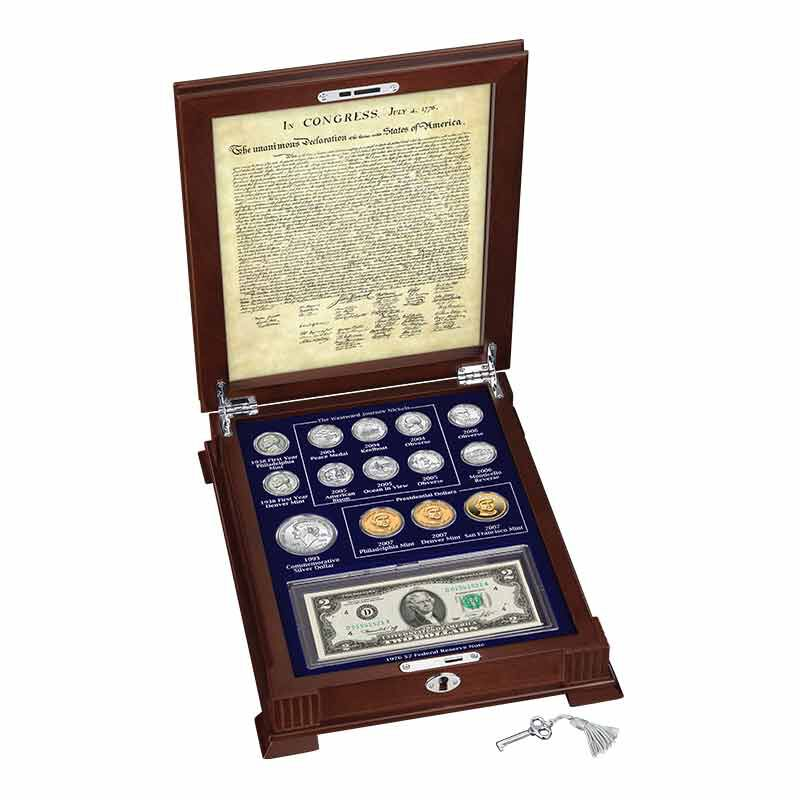 Thomas Jefferson Coin and Currency Set 1796 003 0 2