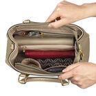 The Sloane Metallic Handbag Set 5519 0011 e inside