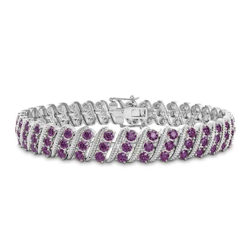 Bold  Brilliant Birthstone Bracelet 6003 001 2 2