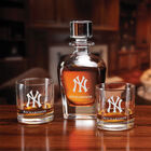 The Personalized New York Yankees Decanter Set 10128 0014 b bar