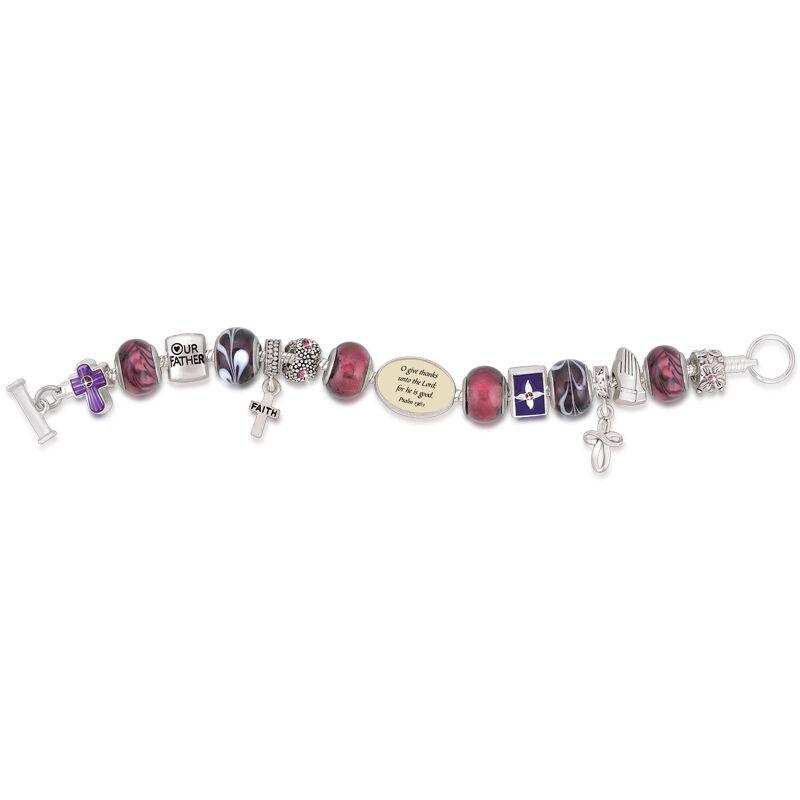 Messages of Faith Charm Bracelet Set 4850 001 1 3