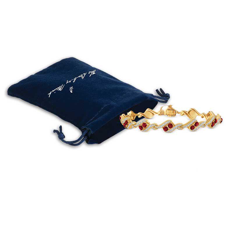 Birthstone  Diamond Bracelet 6321 001 7 14