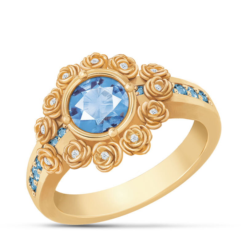 A Dozen Roses Birthstone Diamond Ring 6874 0018 l december