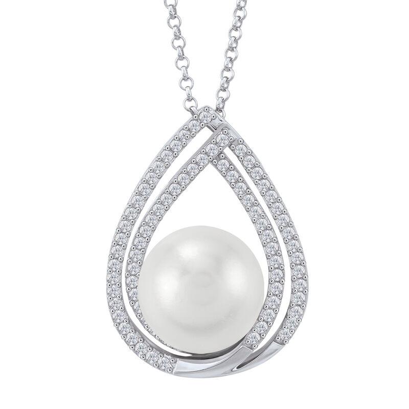 Drop of Elegance Pearl Diamonisse Pendant 6489 0015 a main