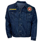 The Personalized Mens US Marines Denim Jacket 1365 0106 a main