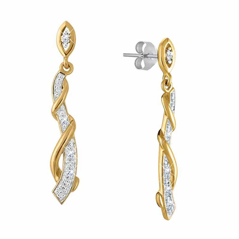Twists of Elegance Diamond Earrings 2645 001 5 1