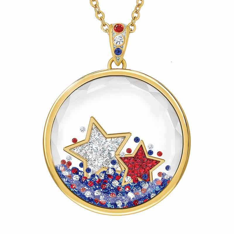 Year of Cheer Floating Crystal Pendants 1553 001 7 15