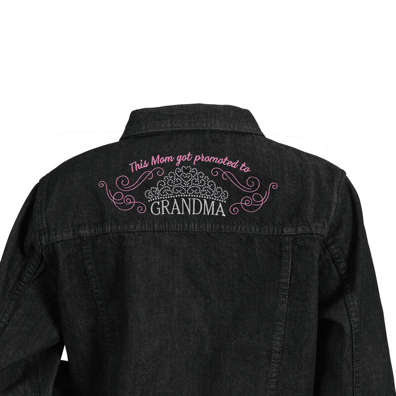Glamma Denim Jacket 6682 0010 c back