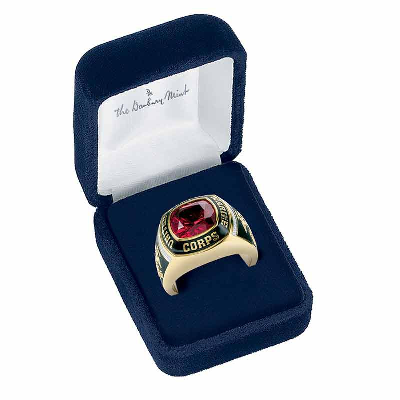 The Defender US Marine Corps Ring 6515 003 9 3