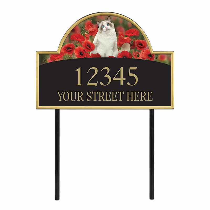 The Captivating Kitties Address Plaque by Simon Mendez 1088 010 2 1