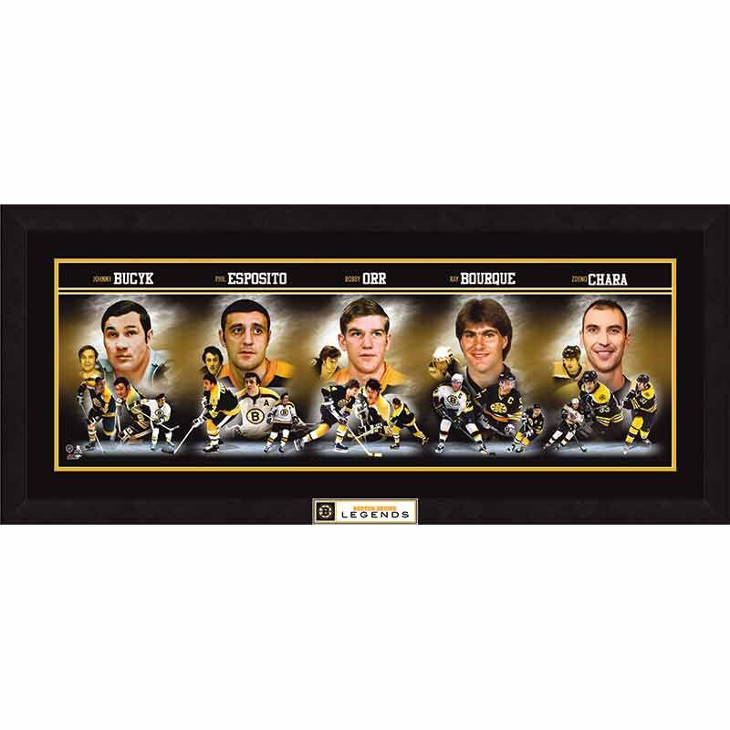 Boston Bruins Legends Photo Collage 5926 003 4 1