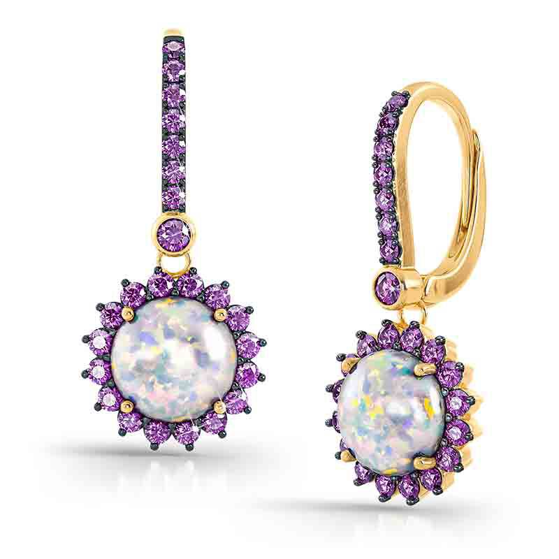 Perfectly Paired Created Opal Pendant with FREE Matching Earrings 4934 001 1 2
