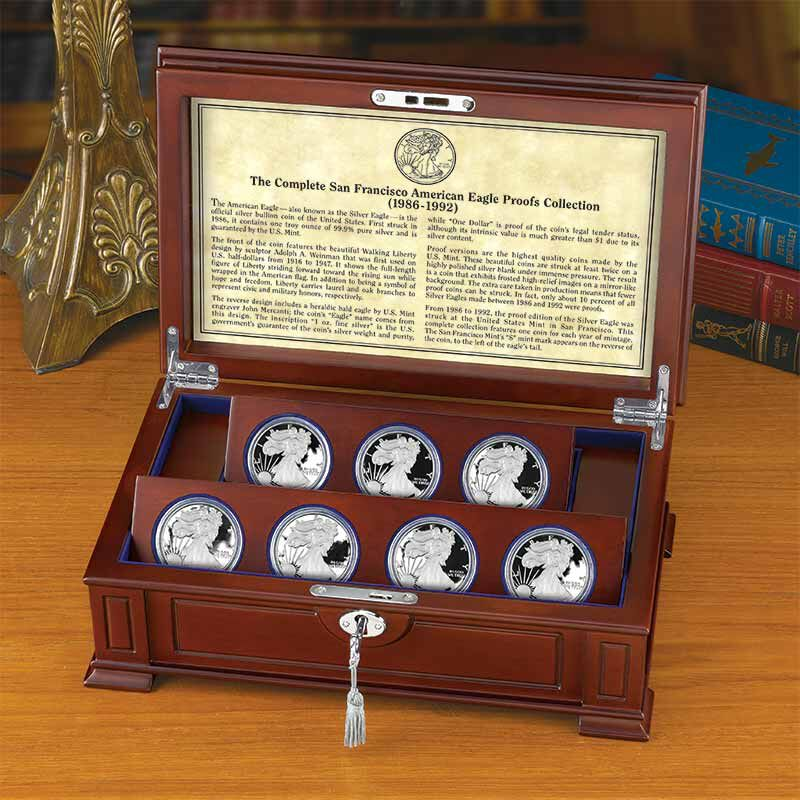 The Legendary Seven   The San Francisco Silver Eagles Proofs 5414 001 7 2