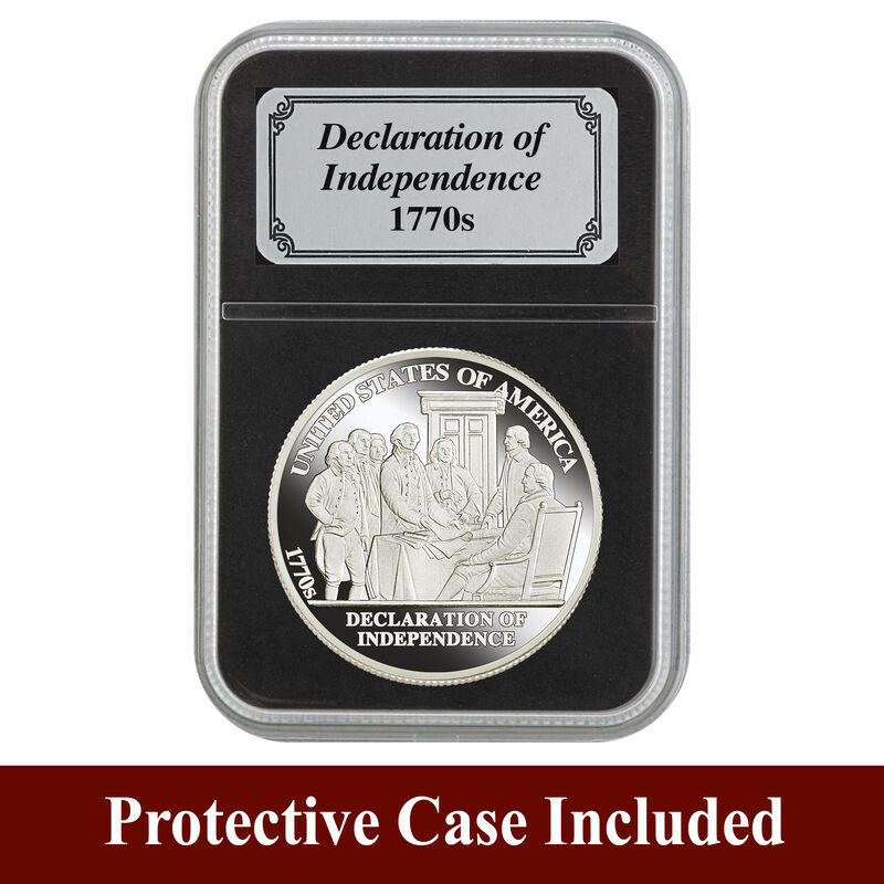 American History Silver Bullion Collection 5541 0104 d showpack