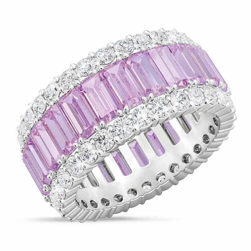 Birthstone Beauty Eternity Ring 2811 001 3 6