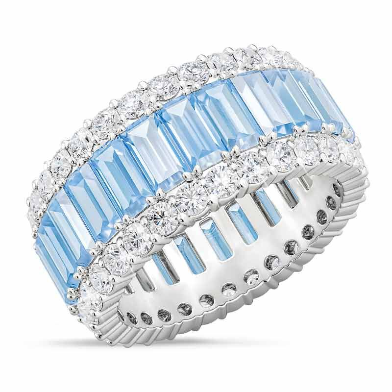 Birthstone Beauty Eternity Ring 2811 001 3 3
