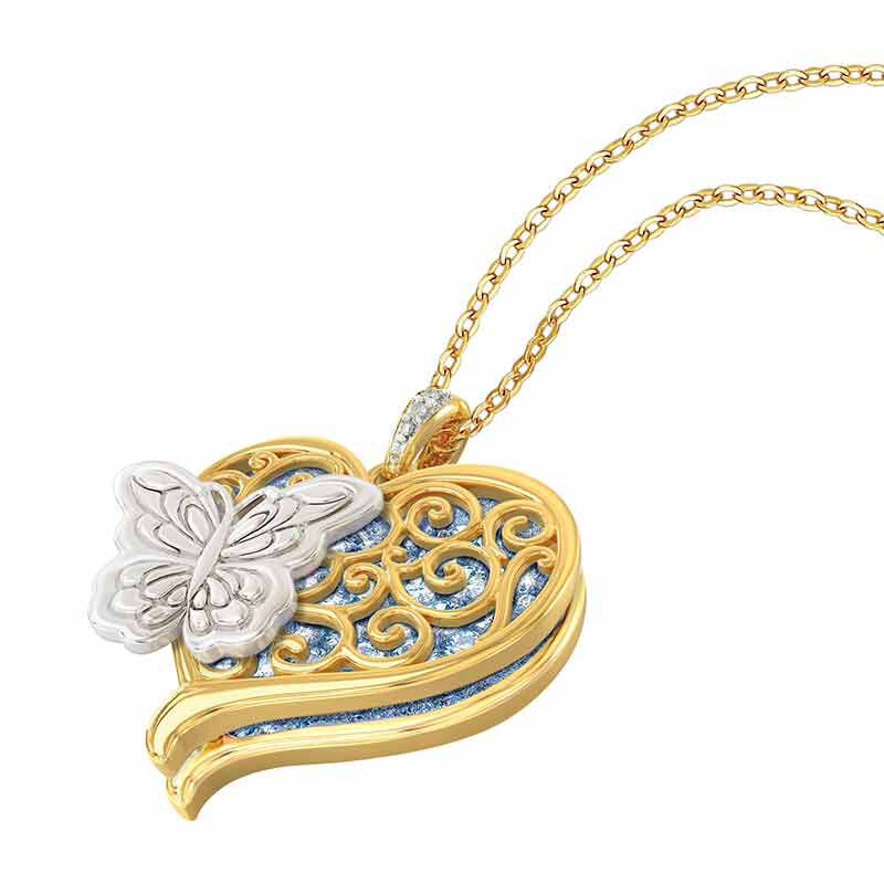 Wings from Heaven Remembrance Pendant 6484 001 0 3