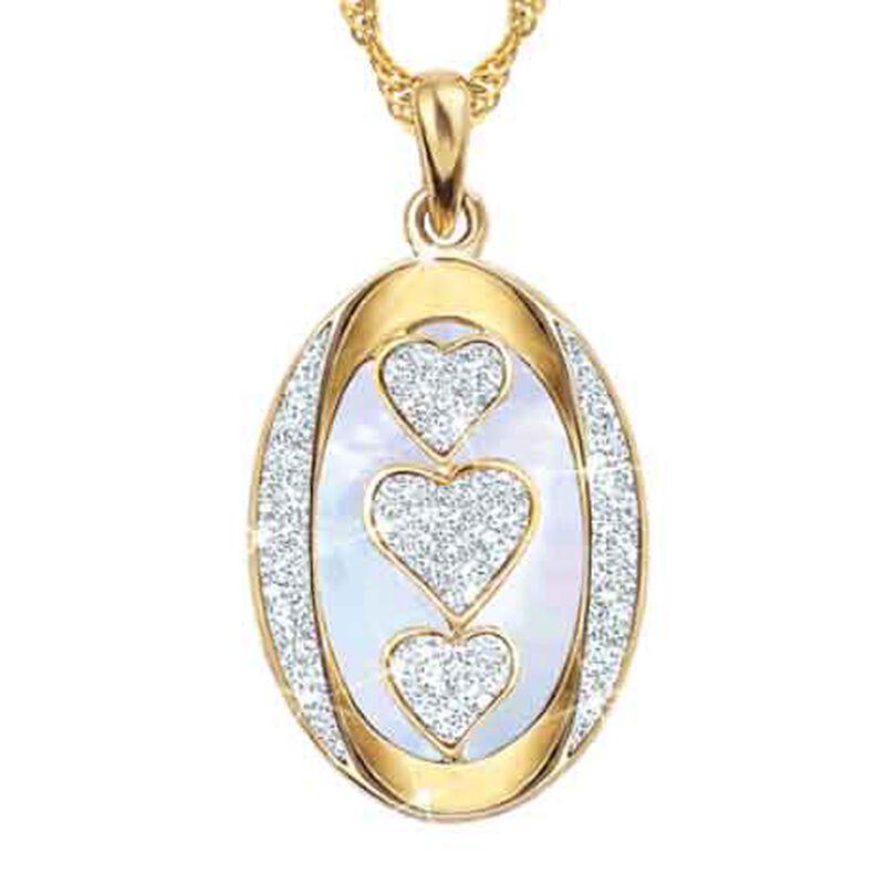 My Daughter My Little Girl Then Diamond Pendant 1162 009 3 2